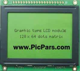 دانلود پروژه کامل نحوه کار با LCD گرافیکی در محیط بسکام