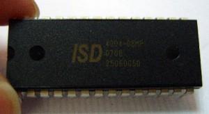 پروژه کامل آی سی ضبط صوت ۸ تا ۱۶ دقیقه ( ISD4004 ) با پروتکل SPI